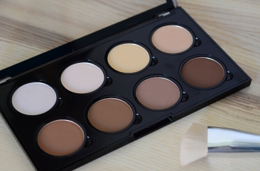 pro contour palette e-d: ice queen, soft light, cream, nectar e-d: tan, toffee, sculpt, hollow