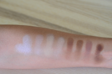 e-d: ice queen, soft light, cream, nectar tan, toffee, sculpt, hollow